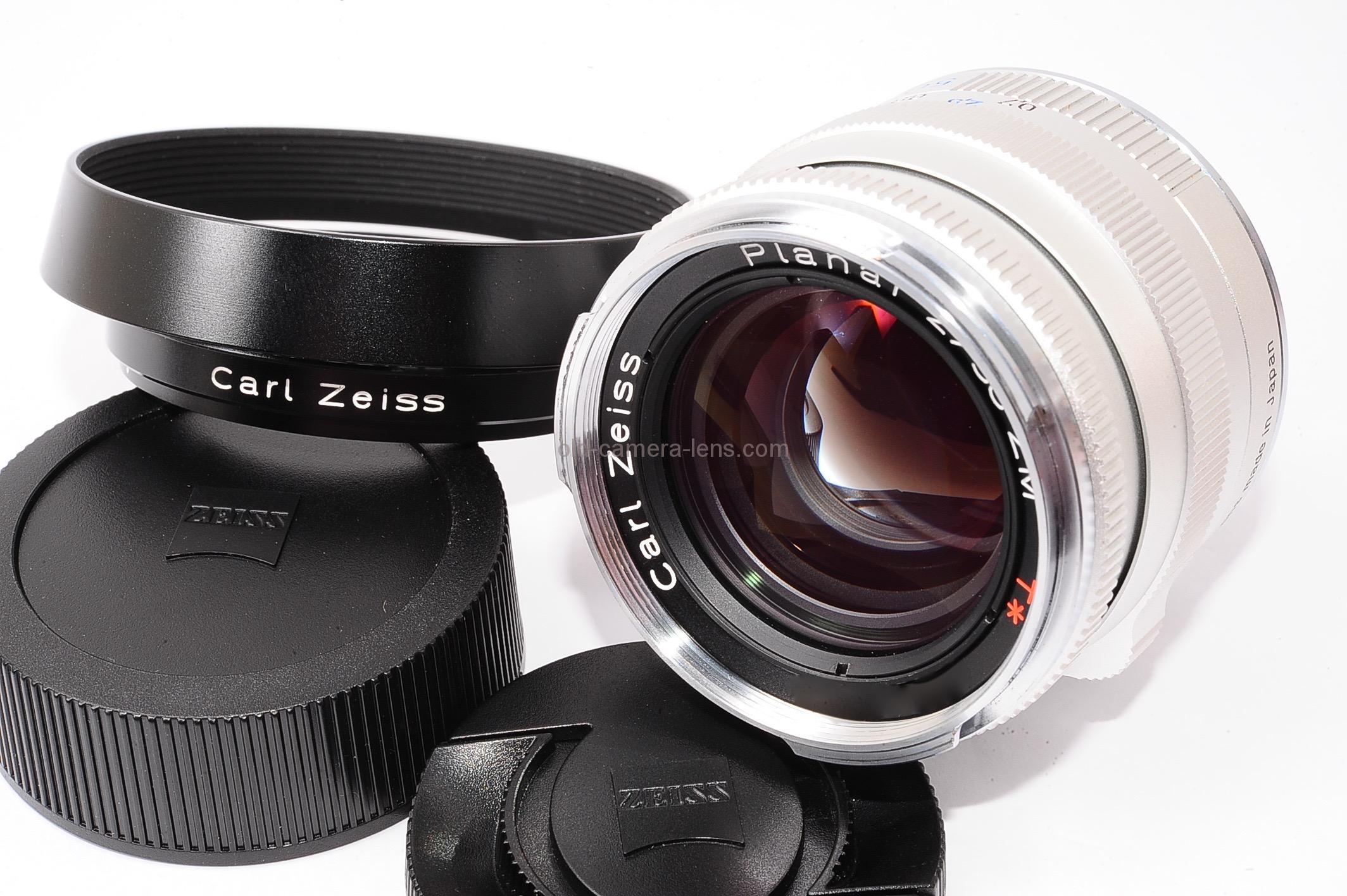 カールツァイス プラナー (Carl Zeiss Planar) 50mm F2 ZM | 神玉レンズ